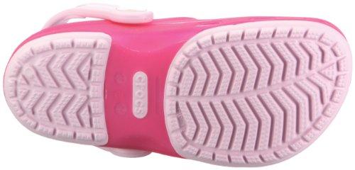 Pink 5 1 Rosa Hotpink Bubblegum unisex Crocs K C4 Bgm 69h Clg bambino 11242 69H Trnslcnt Sabot HPk wzfqxYz61