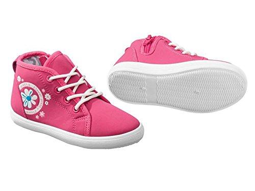 Kinder Mädchen Sneaker Pink 25 26 27 28 29 30 Größe wählbar Schuhe