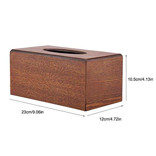 Tissue Boxes Rectangular Tissue Box Natural Elegance Wood Bedroom