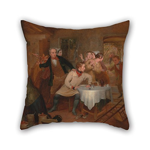 Fawn Costume Tumblr (Slimmingpiggy Oil Painting Richard Redgrave - The Deserter's Home Cushion Cases 16 X 16 Inches / 40 By 40 Cm Gift Or Decor For Relatives,sofa,wedding,kids,wedding,valentine - Twice)