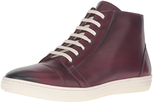 Mix Mens Marsala Mode Sneaker Bordeauxrood