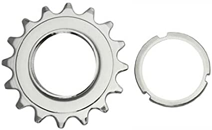 "Cyclists/' Choice 16T Track Cog 1//2X3//32/"" Silver"
