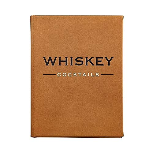 Whiskey Cocktails Special Edition in Cognac Fine Leather - (Best Rye Whiskey Cocktails)