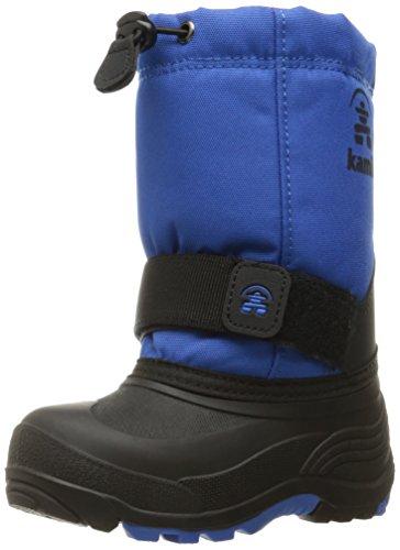 Kamik Boys' Rocket Snow Boot, Blue, 8 Medium US Toddler (Kamik Waterproof Snow Boots)
