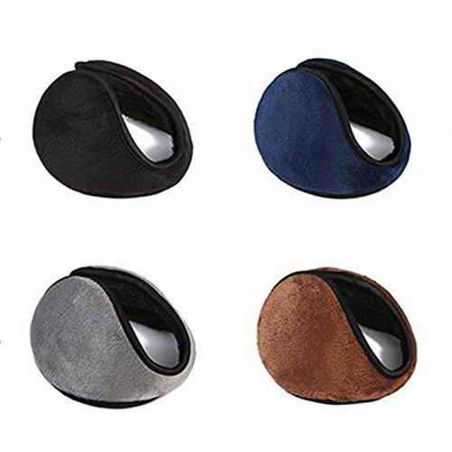 5 Pcs Soft Ear warmer Winter Ear Muff Wrap Warm Grip Earlap Careshine Ear Earmuff
