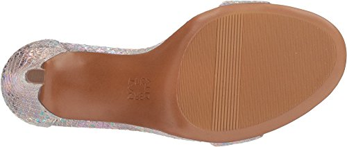 Kinsley Snake Silver Sandal Leather Irridescent Naturalizer Women's 4q5Bff