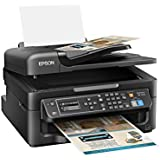 Epson WorkForce WF-2630 Wireless Business AIO Color Inkjet, Print, Copy, Scan, Fax, Mobile Printing, AirPrint, Compact…