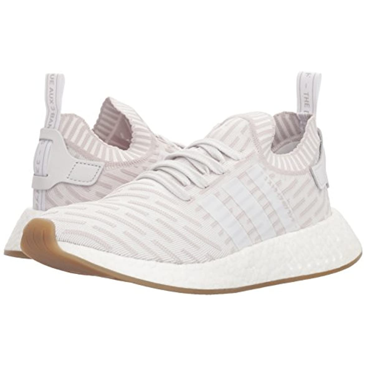 Adidas Originalsnmd r2 Pk W - Nmd r2 Da Donna Uomo Bianco white white shock Pink 42 5 Eu