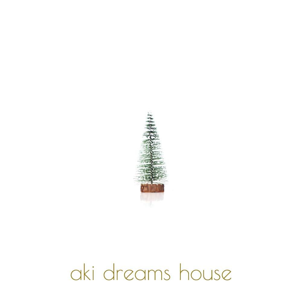 aki dreams house Árbol de Navidad para decoración del hogar con 6 ...