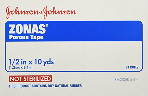 J & J Zonas Athletic Trainers Tape 1/2'' -