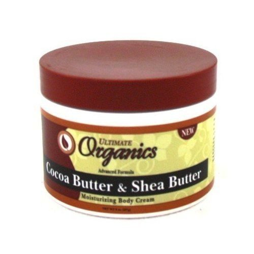 Shea Butter Jar (Ultimate Organic Cocoa Butter & Shea 8 oz. Jar)