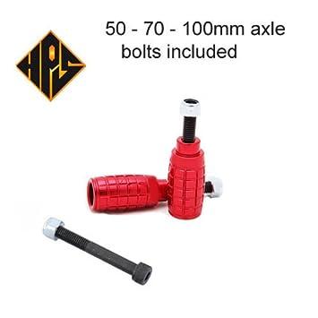 Uno par rojo estilo granada HPS prima Clavijas de acrobacias ...