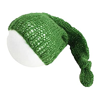 preliked Newborn Baby Infants Cute Hand-knitted Crochet Mohair Hat Cap Photography Props