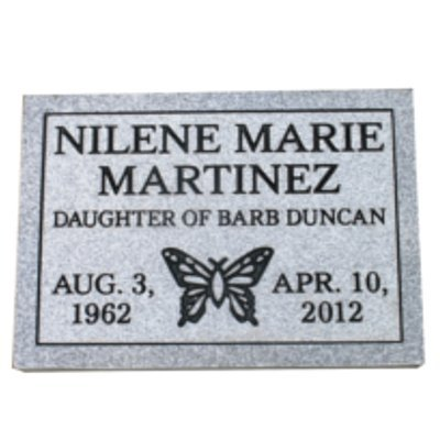 Cemetery marker headstone monument- engraving included