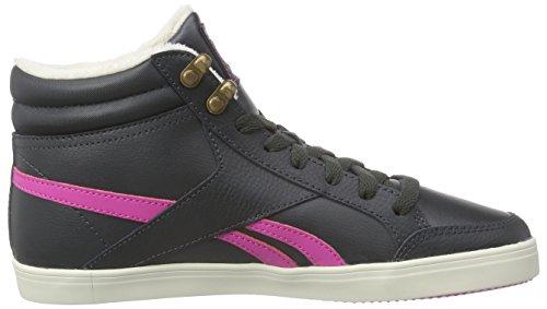 grigio alte Schwarz nere reale carta rosa Reebok medio collegiate bianco ghiaia Aspire sneakers Royal donna da Snqt7