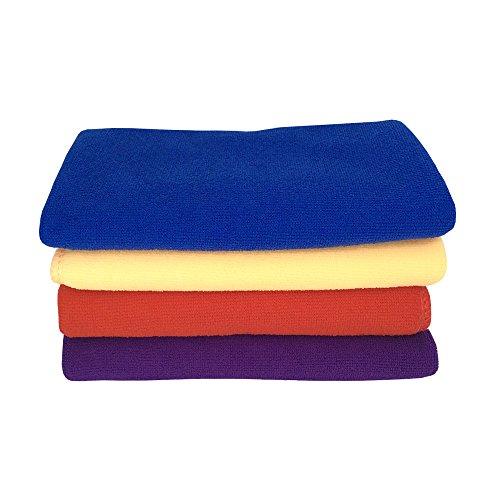 Zhenxinmei 4 Pack Microfiber Towel Sets 13