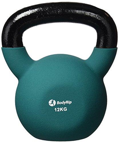 BodyRip PREMIUM Neoprene Kettlebell   Home Gym, Workout, Exercise, Weight Training   4, 8, 12, 16, 20, 24, 28, 32kg