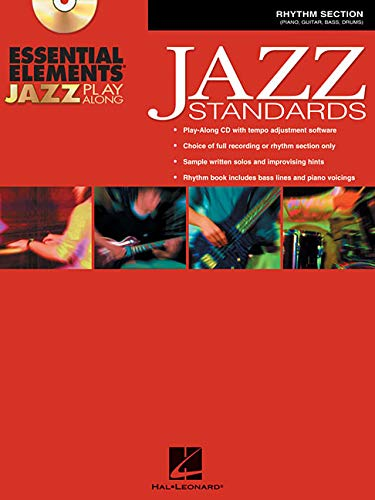 Jazz Rhythm Section - Essential Elements Jazz Play-Along: Jazz Standards Rhythm Section Bk/CD-ROM by Various (2005) Paperback