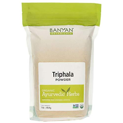 Banyan Botanicals Triphala Powder - USDA Organic, 1 Pound - Balancing Formula for Detoxification & Rejuvenation*