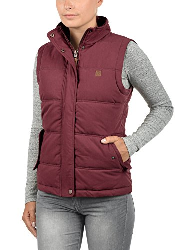 Red Lewonda Quilted Body Vest Gilet with Hood 0985 Women's Wine Warmer Desires 4w6RqxRv