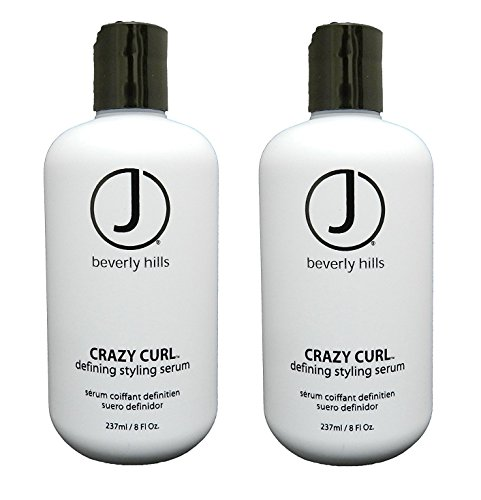 J Beverly Hills Crazy Curl Defining Styling Serum 8 oz (Set of - Hill Beverly Shopping