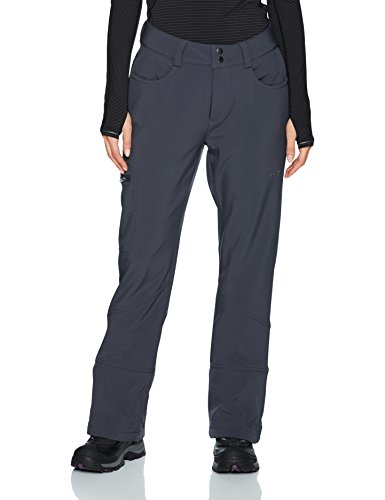 Arctix Women's Sarah Fleece-Lined Softshell Ski Snow Pants, Steel, Large