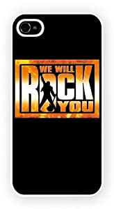 We Will Rock You The Musical West End Musicals, iPhone 4 / 4S glossy cell phone case / skin
