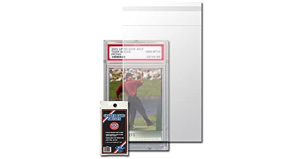 Amazon.com: BCW Resealable Graded Card Sleeve – 3 3/4 X 5 1 ...