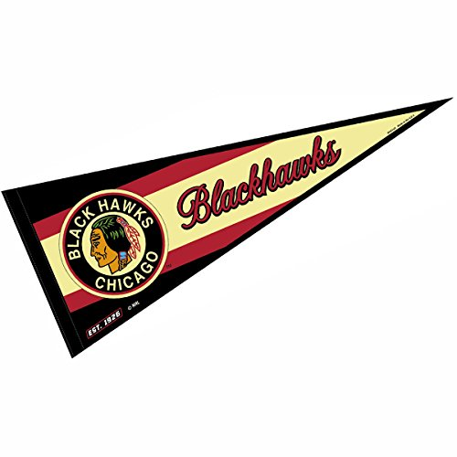 Chicago Blackhawks Vintage Throwback NHL Pennant