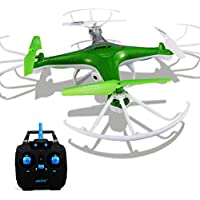 Wotryit JJRC H97 2.4GHz 4CH 6-Axis LED With Camera RC Quadcopter Drone (green)
