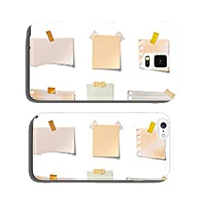 note paper piece label vintage grunge tape cell phone cover case Samsung S5