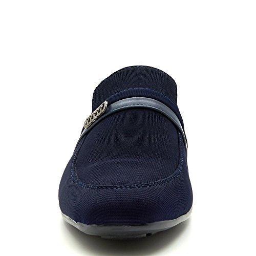London Footwear Preston, Men's Loafers Blue