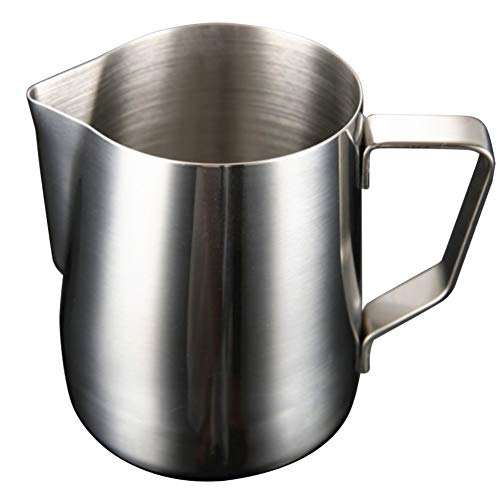 - Milk Frothing Pitcher, Maserfaliw 1000/1500/2000ml Stainless Steel Milk Frothing Pitcher Coffee Latte Jug Cup - 1000ml, Practical Holiday Gifts And Family Essentials.