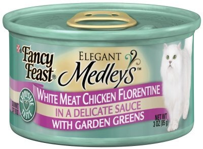 NESTLE PURINA PET CARE CANNED - FANCY FEAST CHICKEN FLORENTINE Case 24/3 OZ