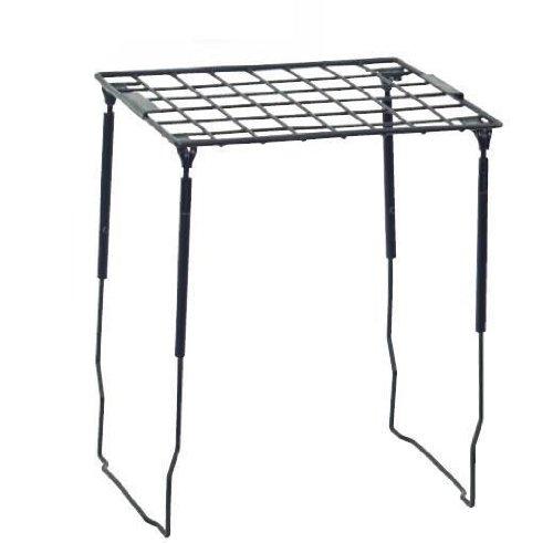 Merangue Adjustable Wire Locker Shelf, Black (1018-0821-00-000) by Merangue