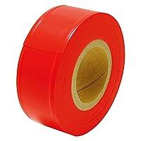 シンワ測定 マーキングテープ 30㎜×50m 蛍光オレンジ 10個入 50160