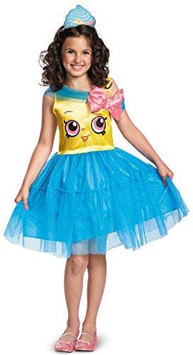 Shopkins Queen Cupcake Classic Costume, One Color, Medium/7-8