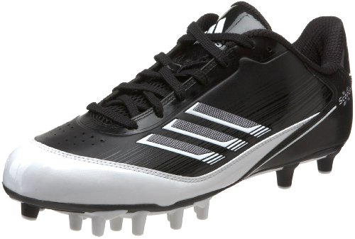 Pictures of adidas Men's Scorch X SuperFly Low Black/White/Metallic Silver 1
