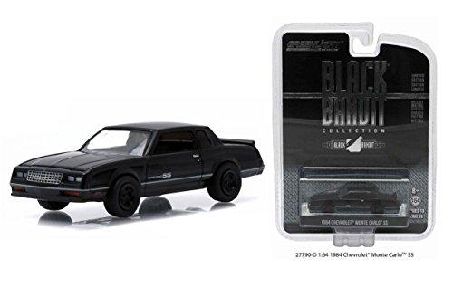 Greenlight 1:64 Scale Black Bandit Series 13 1984 Chevrolet Monte Carlo SS
