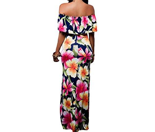 Amazon.com: Twilaisaac Fashion dress mulheres vestidos longos de festa elegante boemia dress maxi vestido sereia vestido de festa lc61189: Clothing