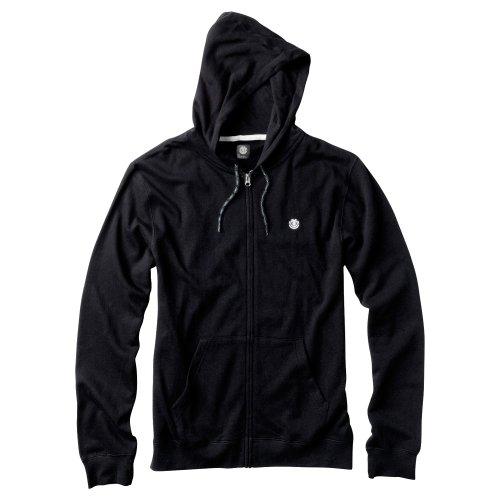 Element Cornell Fleece Full Zip Hoodie - Black
