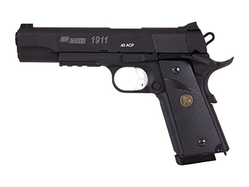 Sig Sauer 1911 Metal Blowback CO2 BB Pistol - Bb Gun Blowback 1911