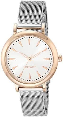 Nine West Women's Mesh Bracelet Watch 1