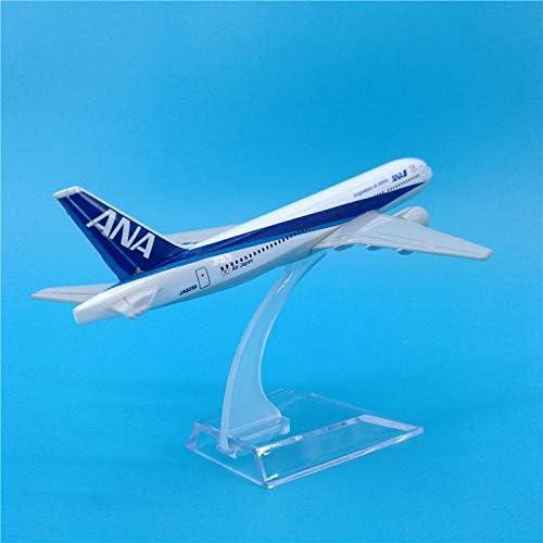 16cm飛行機模型ボーイング767ダイキャスト旅客日本B767金属飛行機模型装飾お土産