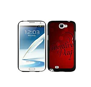 4EVER Rugged Cell Case for Samsung Galaxy Note 2, Valentines day Samsung Galaxy Note 2 Shell Cover for Valentines day Fans