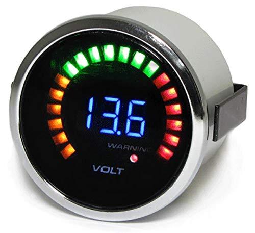 Voltage Gauge Volt Meter Dashboard Instrument 52 mm Tenzo Pro: