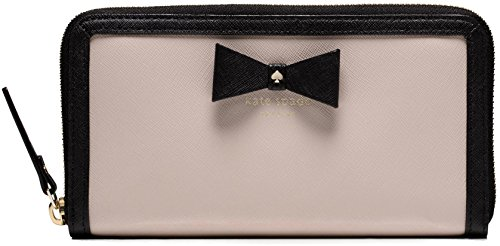 Kate Spade Hazel Court Lacey Wallet, Pebble Black Bow by Kate Spade New York