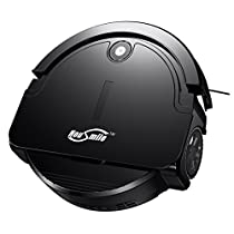 Housmile Robotic Vacuum Cleaner with Drop-Sensing Technology, Robot Vacuum with 1000Pa Strong Suction, for Pet Hair, Advanced Filtration
