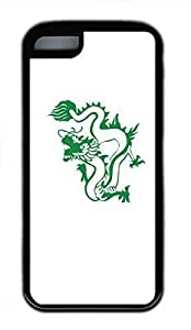 Hot for iphone 5c Customized Unique Print Design Dragons Vector Graphics New Fashion Tpu Black for iphone 5c Cases