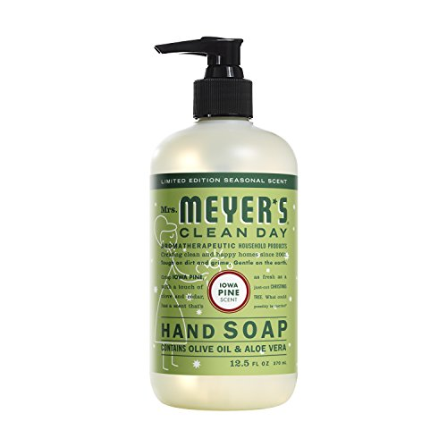 Mrs. Meyer's Clean Day Liquid Hand Soap, Iowa Pine, 12.5 Oun